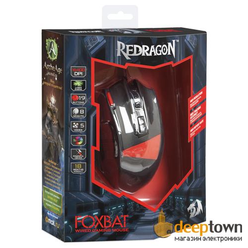 Мышь USB REDRAGON FOXBAT Art.70346