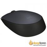 Мышь USB Logitech m170 (серая, 910-004642)