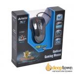 Мышь USB A4TECH X-705K (чёрная)