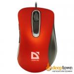 Мышь USB defender Datum MM-070 Art.52071 (красная)