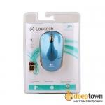 Мышь беспроводная Logitech m215 (синяя, 919-003164)
