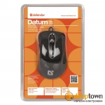 Мышь USB defender Datum MM-070 Art.52070 (черная)