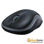 Мышь беспроводная USB Logitech m185 (серая, 910-002238)
