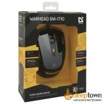 Мышь USB defender WARHEAD GM-1710 Art.52710 (чёрная)