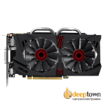 Видеокарта ASUS nVidia GeForce GTX 950 STRIX (2GB GDDR5, 128bit, STRIX-GTX950-DC2OC-2GD5-GAMING)