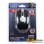 Мышь USB CBR CM 345 (чёрная)