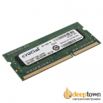 Оперативная память SO-DIMM DDR3 crucial 4GB 1600MHz (CT51264BF160BJ)