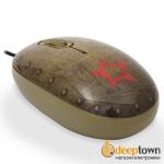 Мышь USB + коврик CBR Tank Battle