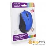 Мышь USB CBR CM 100 (синяя)