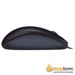Мышь USB Logitech m90 (чёрная, 910-001794)