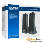 Акустическая система 2.0 SVEN 235 (чёрная)