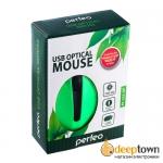 Мышь USB perfeo RAINBOW PF-353-PO-GN (зелёная)