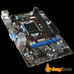 Материнская плата msi H81M-E33 (Socket:LGA1150, mATX)