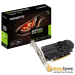 Видеокарта GIGABYTE nVidia GeForce GTX1050 OC Low Profile 2G (2GB GDDR5, 128 bit, GV-N1050OC-2GL)
