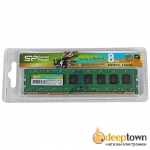 Оперативная память DIMM DDR3 Silicon Power 8GB 1600MHz (SP008GBLTU160N02)