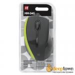 Мышь USB defender MM-340 Art.52346 (черно-зеленая)