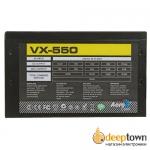 Блок питания AeroCool VX-550 550Вт