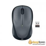 Мышь USB Logitech m235 (серая, 910-003146)