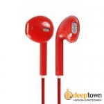 Гарнитура для iPhone 5 (Красная)