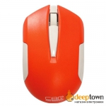 Мышь беспроводная CBR CM 422 (оранжевая)