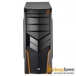 Корпус Aerocool V2X Orange (ATX, чёрный, без БП)