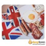 Мышь USB + коврик CBR English Breakfast