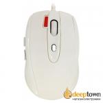 Мышь USB CBR CM 377 (белая)