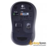 Мышь беспроводная USB Logitech m185 (синяя, 910-002239)
