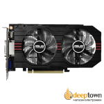 Видеокарта ASUS nVidia GeForce GTX 750Ti (2GB GDDR5, 128bit , GTX750TI-OC-2GD5)