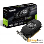 Видеокарта ASUS nVidia GeForce GTX 1050 Ti Strix OC Gaming (4GB GDDR5, 128bit, PH-GTX1050TI-4G)